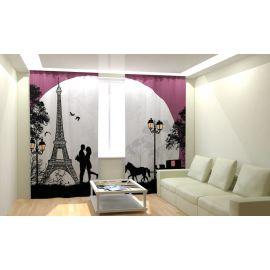 Фотошторы в комнату ПАРИЖ