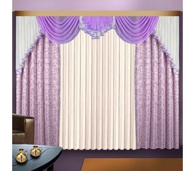 Готовый комплект штор для комнаты КИРА
