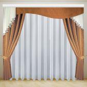 Красивые шторы с ламбрекеном для  спальни или гостиной ДАНИЕЛА