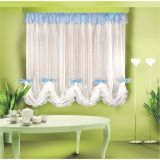 Красивые шторы-тюль для кухни ЖОЗЕФИНА