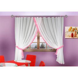 Комплект шторы-тюль для кухни АНГЕЛИНА