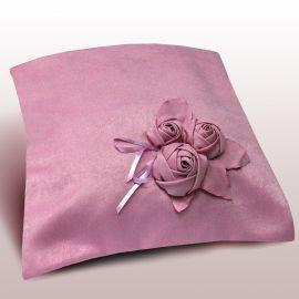 Сиреневая декоративная наволочка ПЕЛАГЕЯ, ткань софт